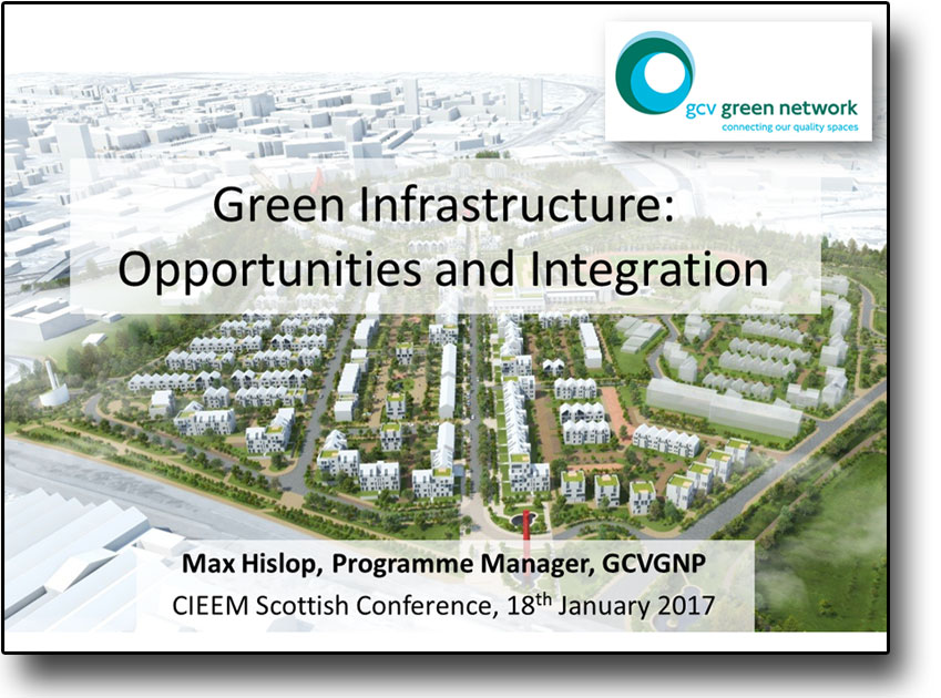 Green Infrastructure Opps and Integration